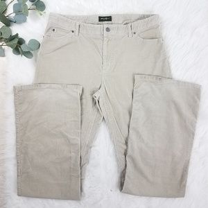 EDDIE BAUER Corduroy Pants 14 Long
